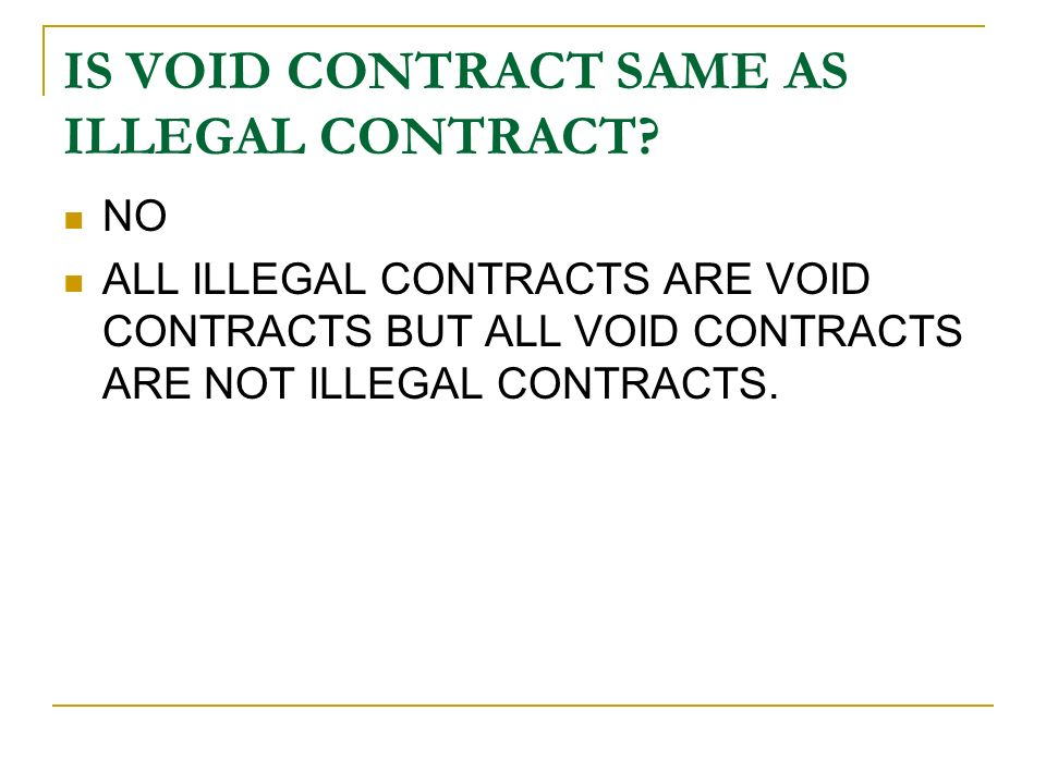 All contracts are agreements but all agreements are not contracts.