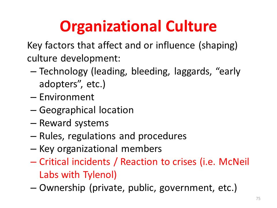 Causes of Organizational Change