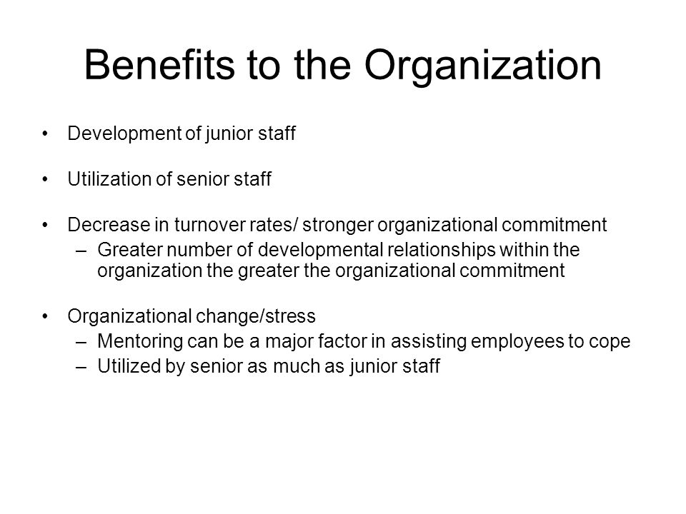 benefits of change in an organisation Hudson's organisational change management solutions ask the questions  process and framework for the people and organisation undergoing change  benefits at a.