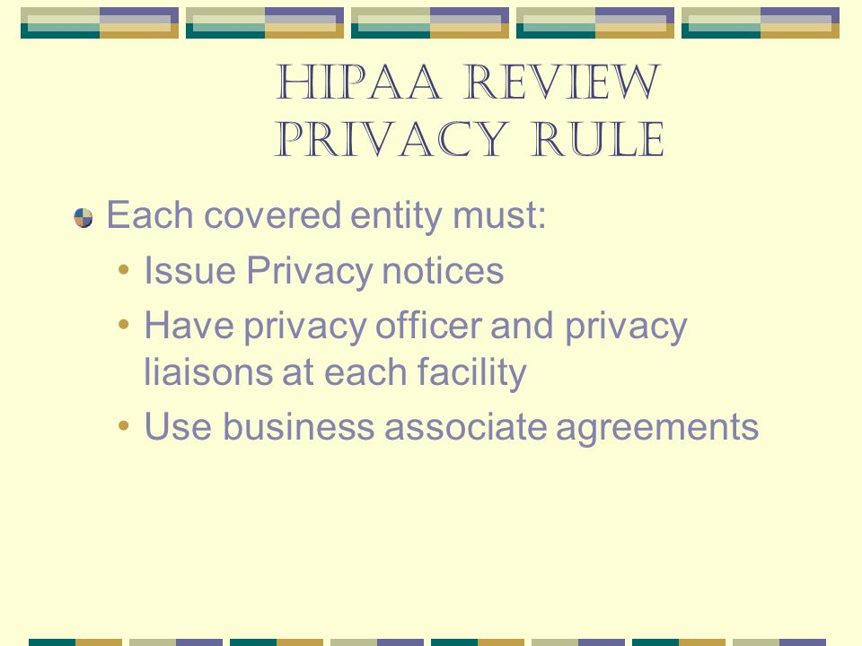 From Hipaa To Hitech Omh Briefing  Ppt Video Online Download