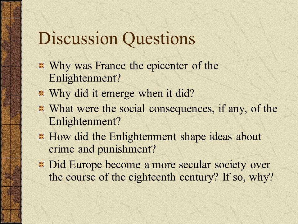 the eighteenth century an age of The enlightenment was an intellectual and philosophical movement that  dominated the world of ideas in europe during the 18th century, the century of.