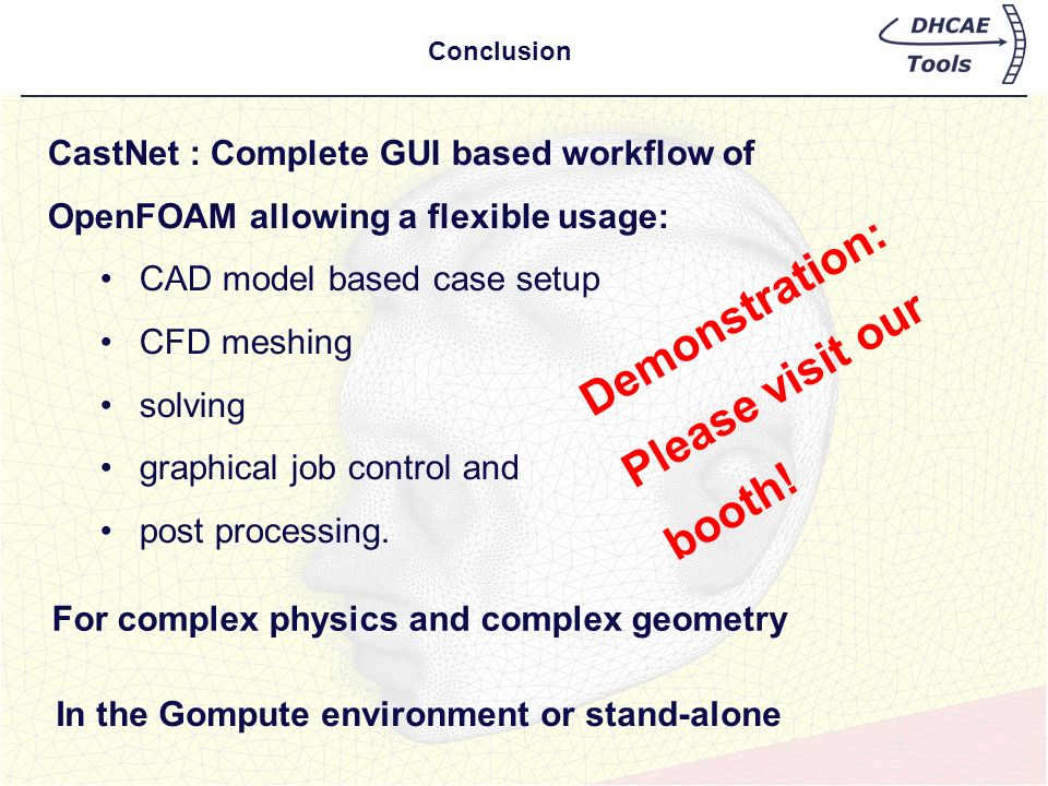 Demonstration: Please visit our booth!