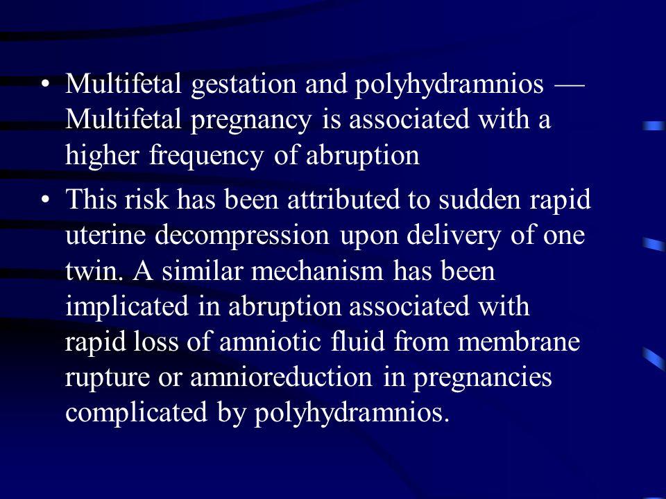 Third Trimester Bleeds in Pregnancy