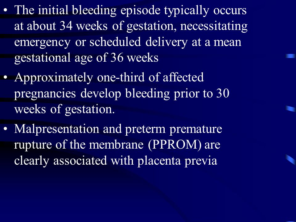 bleeding 34 weeks pregnant Mom Answers BabyCenter