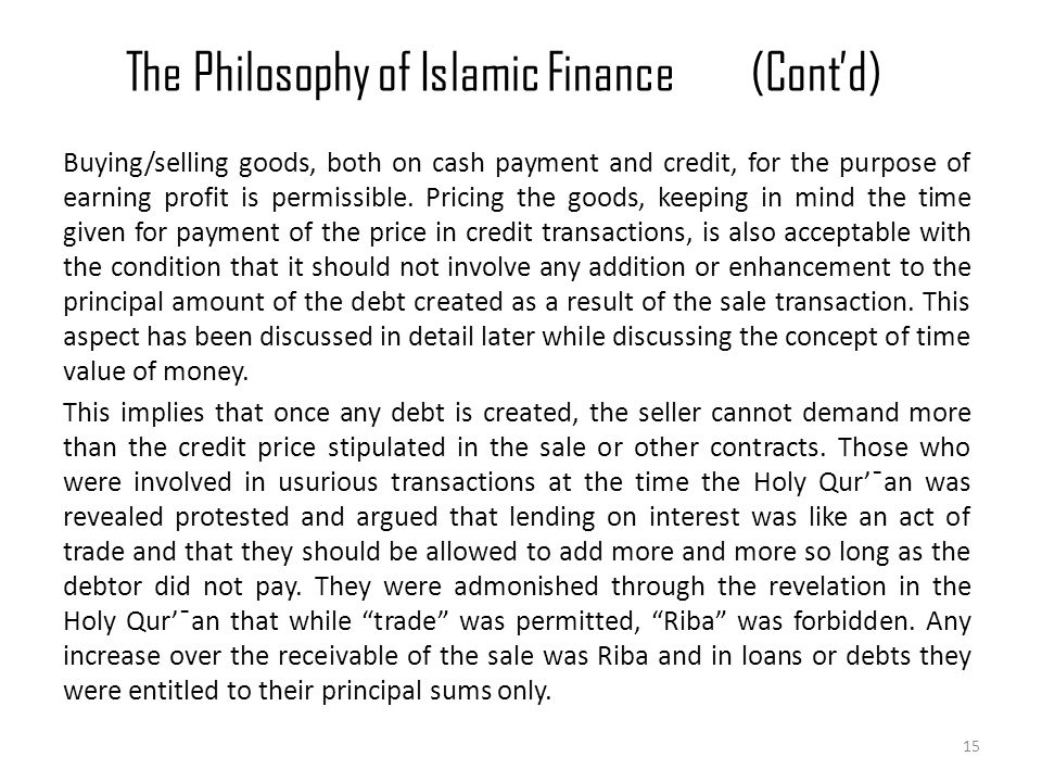 islamic banking sell and buy back Iran and pakistan are committed to establish islamic justice known as adi wa ihsan  of finance comprising mark-up, mark-down, buy-back, leasing, hire- purchase, de-  bank has to purchase and sell the goods at its own account in fact.
