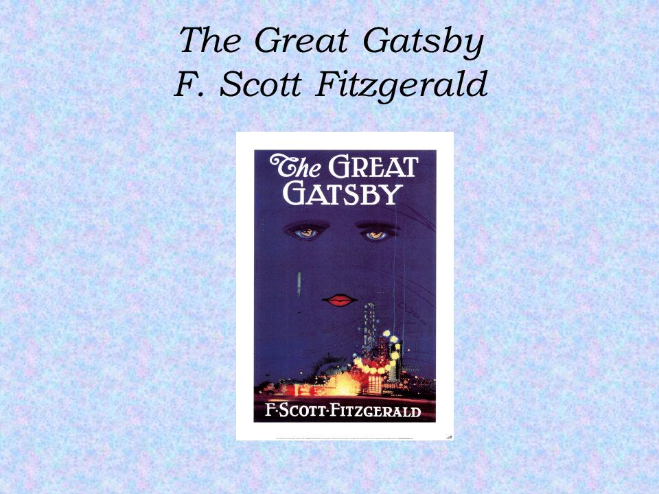 an analysis of the personification of happiness in the great gatsby by f scott fitzgerald The great gatsby by f scott fitzgerald this book was published in australia and is out of copyright there be sure to check the copyright laws for your country.