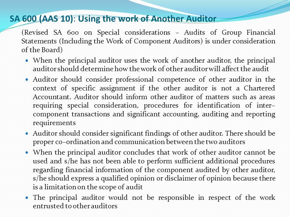 should external internal auditors be responsible for External auditors are responsible to the owners of the company which could be anybody from its owners to the shareholders to the government or general public internal auditors are responsible solely to the company's senior management.