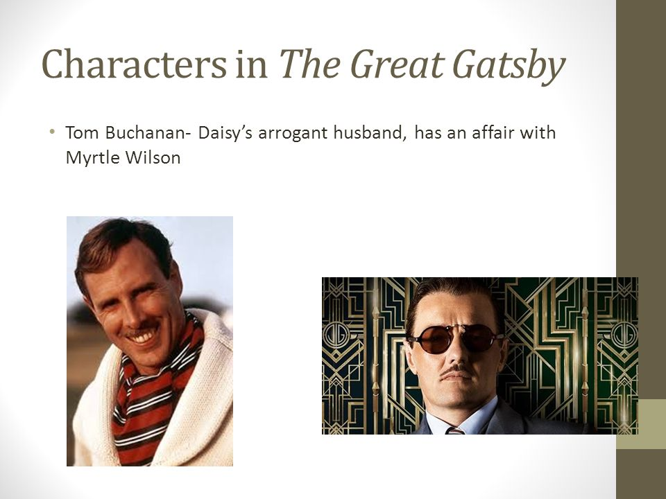 the effect of money on the characters in the great gatsby by f scott fitzgerald (every writer should own a copy of f scott fitzgerald on writing better yet, write out the entire novel of the great gatsby, like hunter s thompson did to learn what beautiful writing felt like second and most important, the book contained no important woman character, and women control the fiction market at present.
