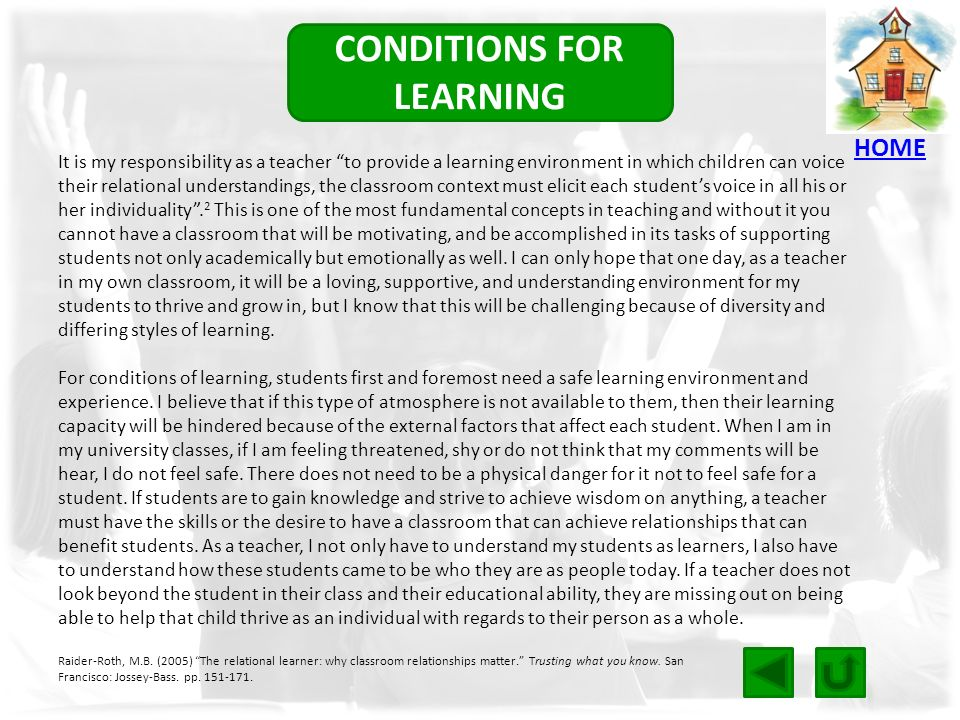 why does personal context motivate my learning If a student does not believe that what they're learning is important, they won't want to learn, so it's important to demonstrate how the subject relates to them if you're teaching algebra, take some time to research how it is utilized practically for example, in engineering and share your findings with your students.