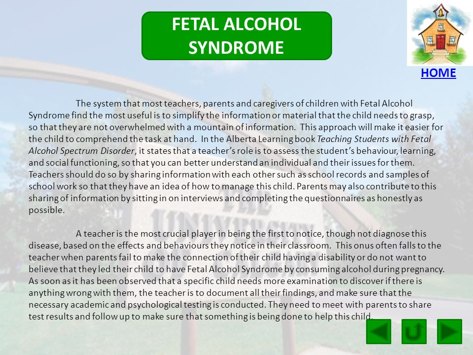 an examination of the fetal alcohol syndrome General physical examination 1 iap ug teaching slides 2015-16 position for examination • 0 to 3 months – examination table  –fetal alcohol syndrome.