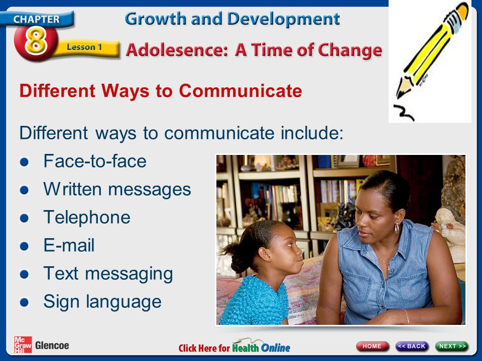 Different Ways to Communicate
