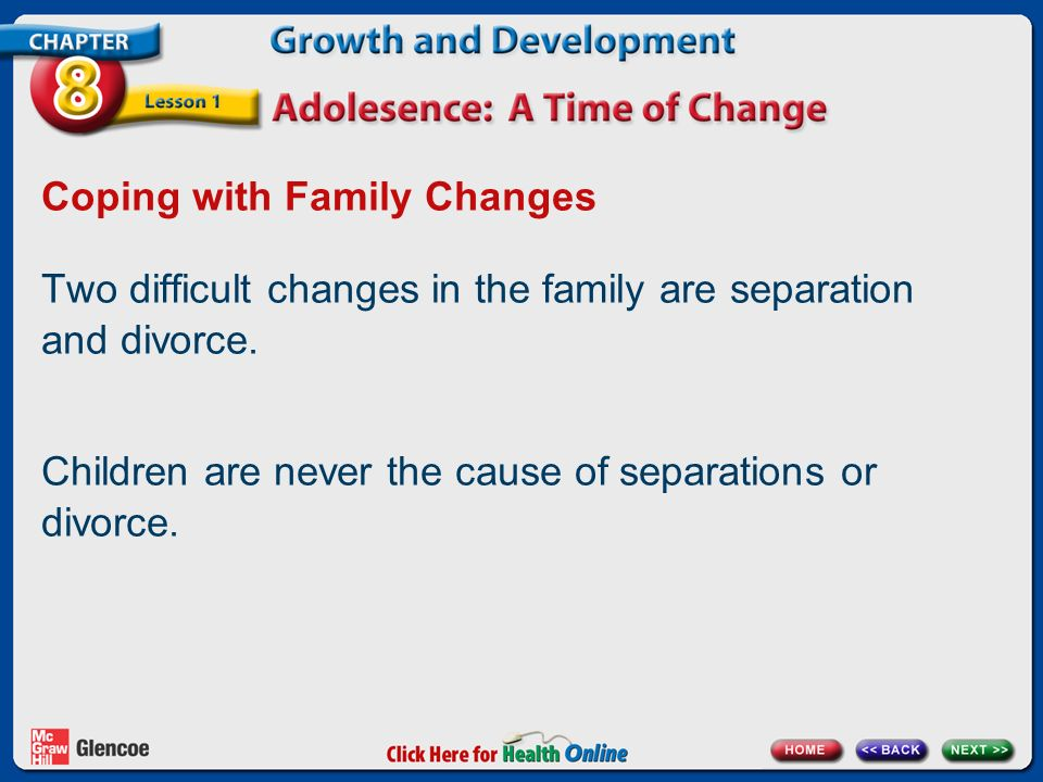 Coping with Family Changes