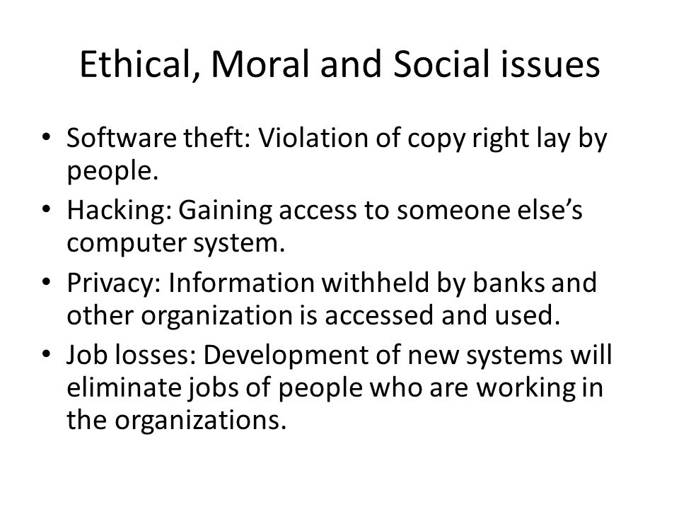 ethical or moral effects of the organization s social initiative Ethical climate on the organizational commitment of full-time the effect of ethical intertwined into the organization, the social norms become.