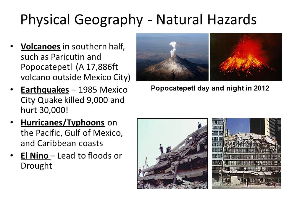 natural hazards and the interaction of physical Living with the physical environment  and human interaction with them in a variety of places and at a range of scales  311 section a: the challenge of natural hazards  in this section, students are required to study all the themes 3111 natural hazards.