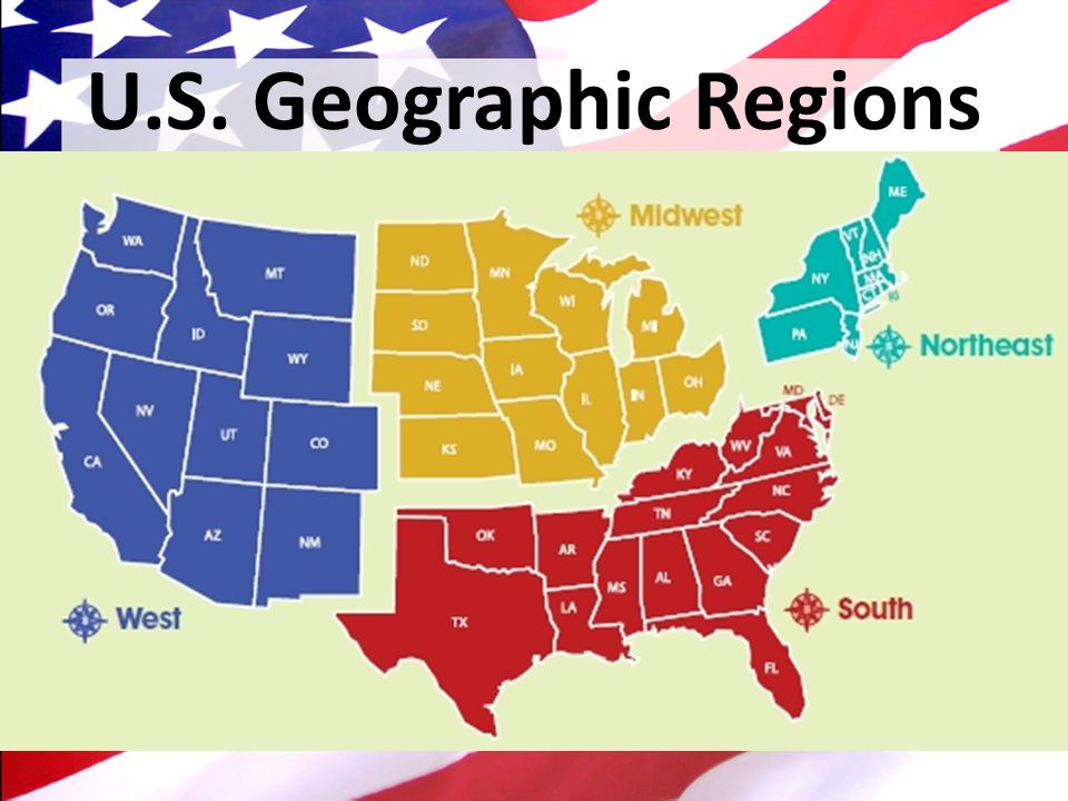 the regions of america Number the geographic regions 1-8 as they are shown on the map.