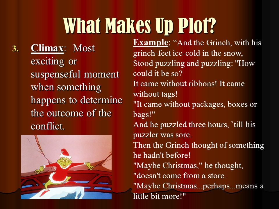 What Makes Up Plot