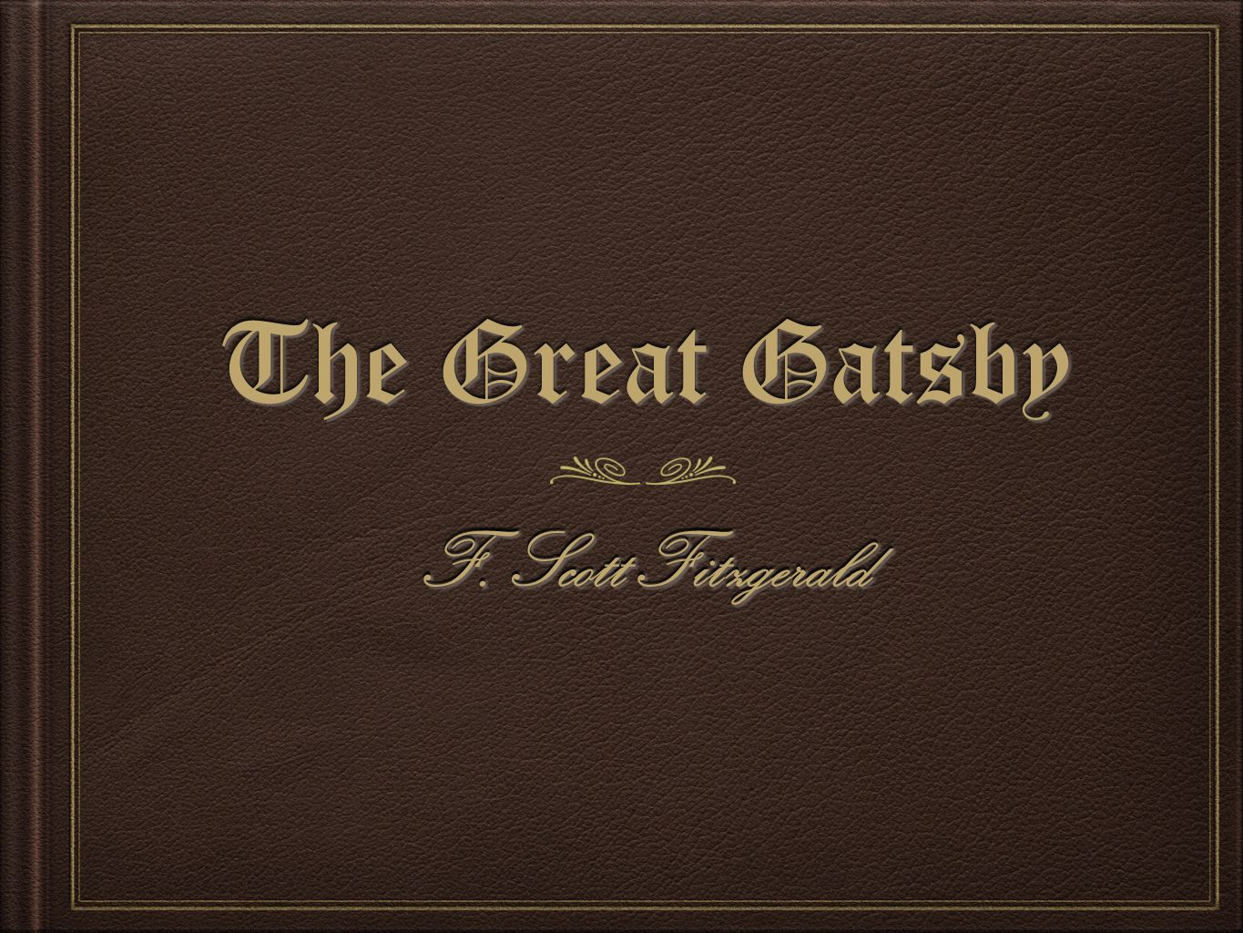 When and why does James Gatz change his name in The Great Gatsby by F. Scott Fitzgerald?