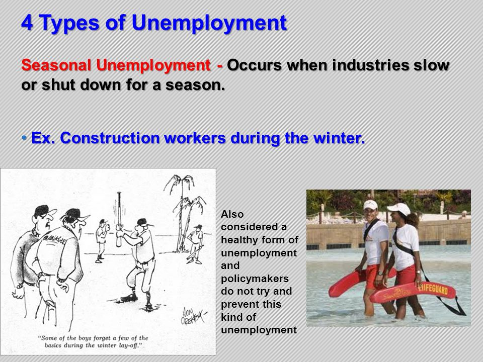 Chapter 13 section 1 unemployment ppt download Construction types insurance