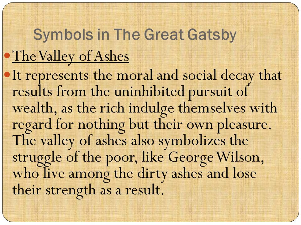 10 Motifs and Symbolism in The Great Gatsby