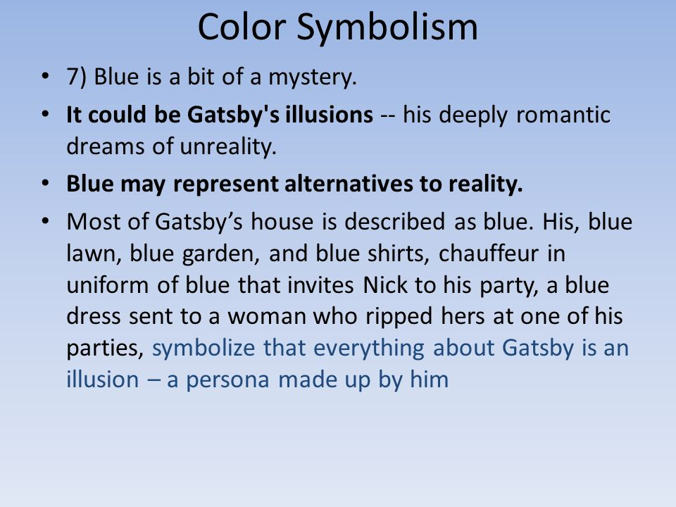 Color Symbolism 1 Gray Is The Color For Dreariness Ppt