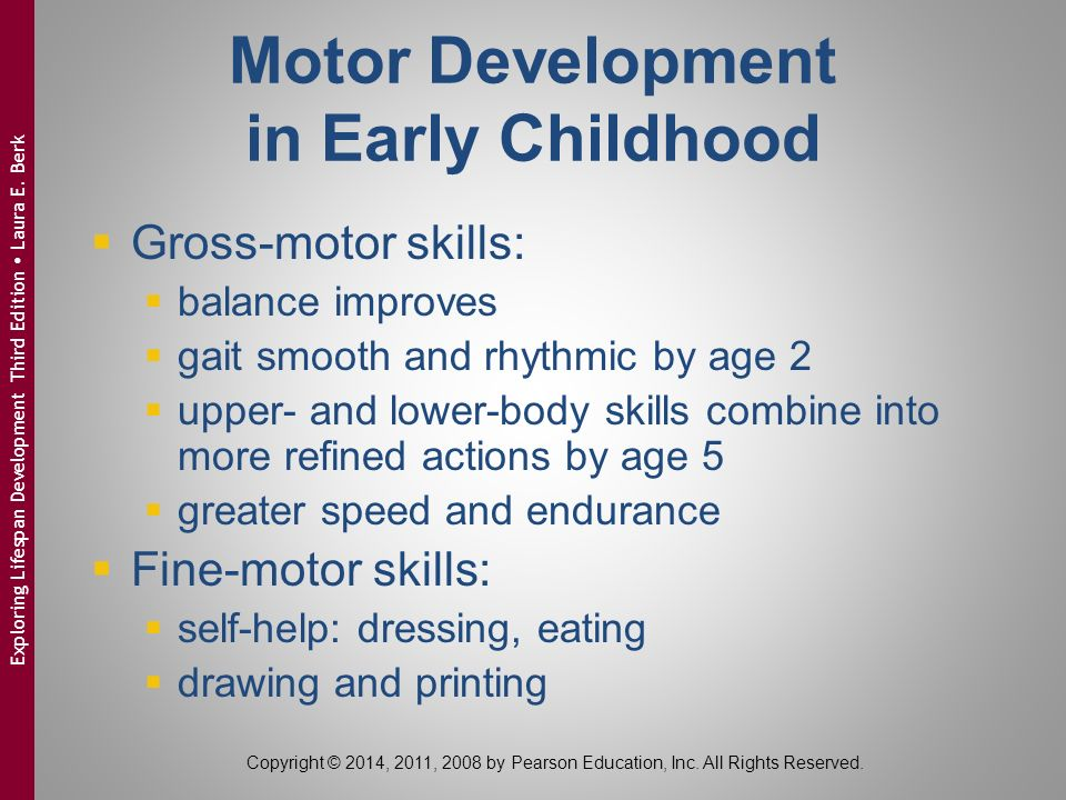 motor development autobiography Strand 1 gross motor development 122 strand 2 fine motor development 125 strand 3 health and well-being 128 glossary 131 references 135 documents reviewed 137  welcome to virginia's milestones of child development this document is a comprehensive resource for those who work with and care about young children we hope you will find this.