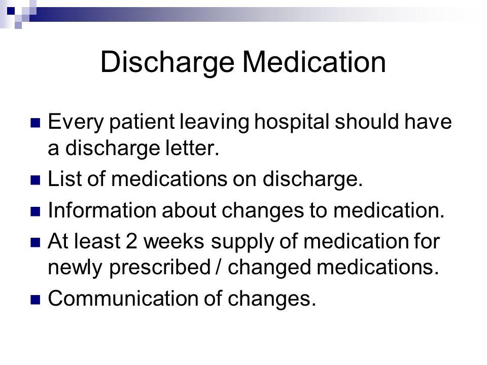 Patient Discharge Letter
