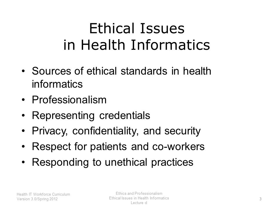 Health and biomedical informatics