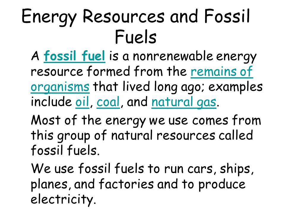 Fossil | Department of Energy