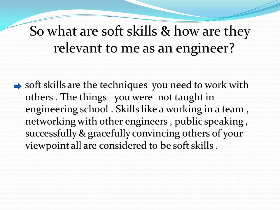 what is soft skills