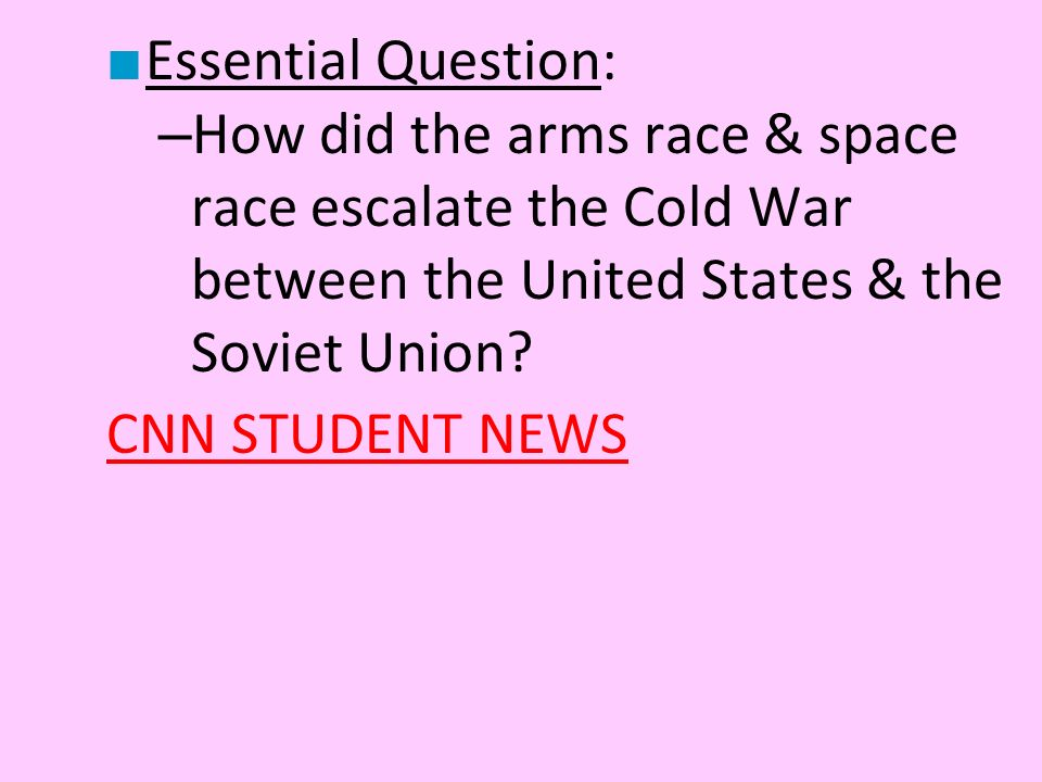 the space race between the united states and the soviet union The space race was a competition of space exploration between the soviet union and the united states, which lasted from 1957 to 1969they raced to explore outer space with artificial satellites, to send humans into space, and to land them on the moon.