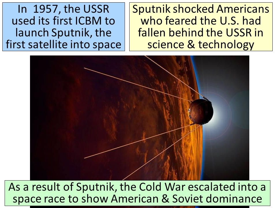 cold race into space essay We have put together a team of expert essay writers who are highly sputnik and the cold war space race what was the significance of space and the cold.