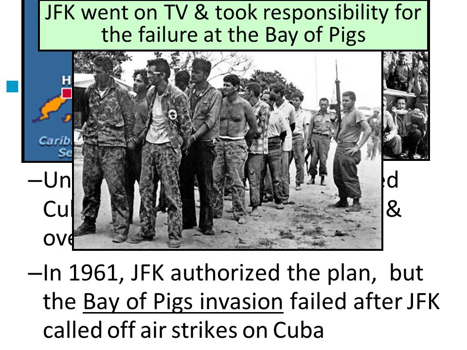 the bay of pigs and united states planned invasion of cuba From the bay of pigs invasion to zunzuneo from the bay of pigs invasion to the latest 'secret' plot to topple castro the united states allegedly sent young latin americans to cuba to foment revolution under the guise of civic and health programs.