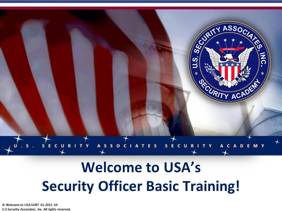 security officer basic training