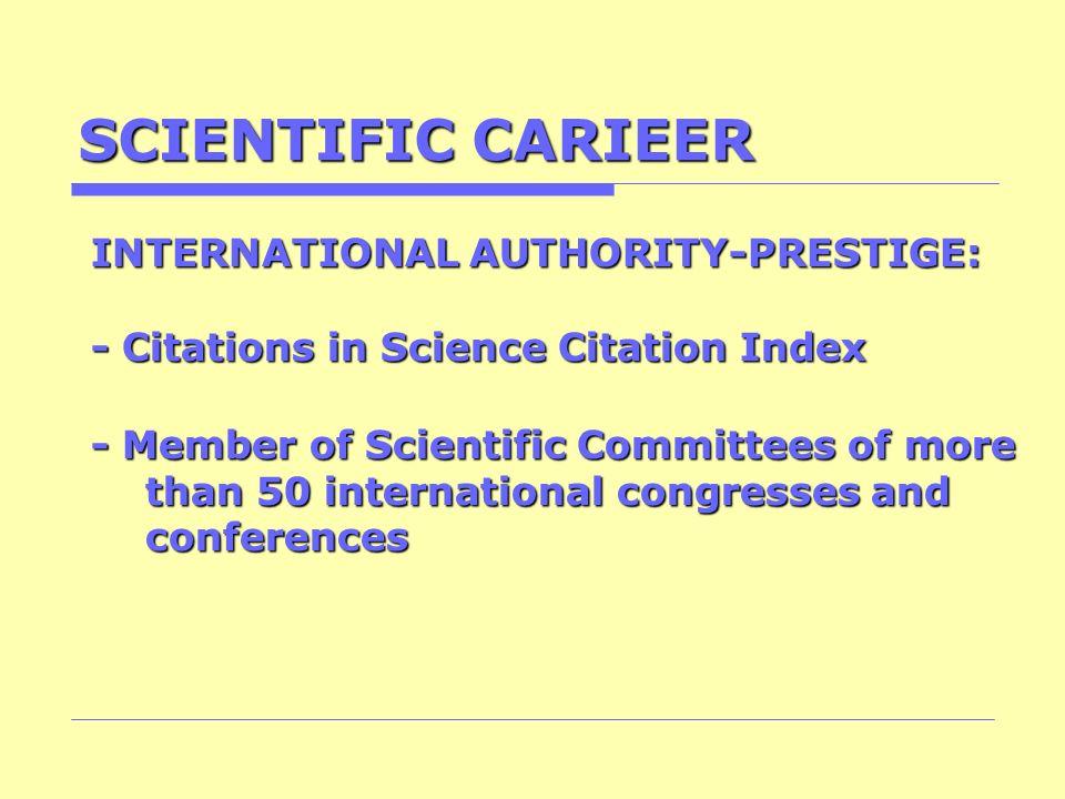 SCIENTIFIC CARIEER INTERNATIONAL AUTHORITY-PRESTIGE: