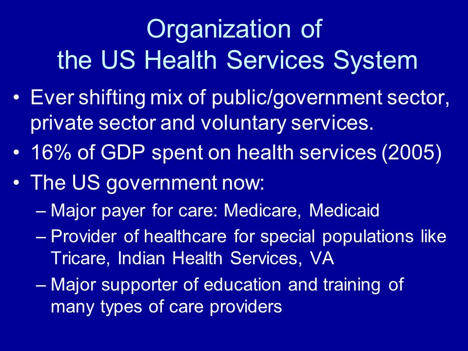 the roemer model of a health services system There are no private hospitals or clinics as all health services are  of healthcare in cuba is illegal  forced the cuban health system to incorporate .