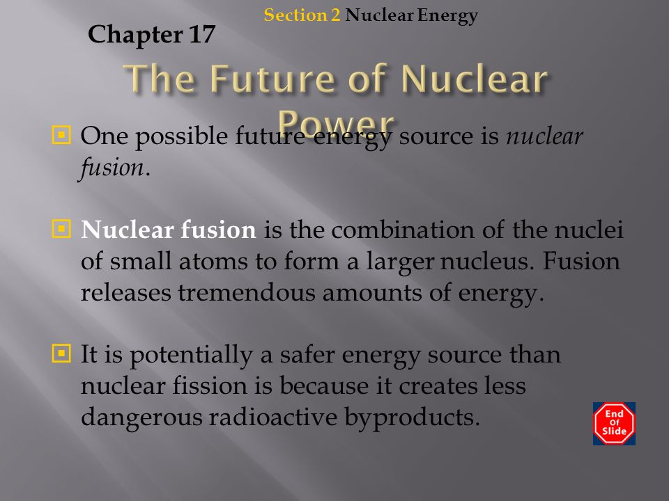 fusion is the future of energy essay Three months ago i wrote an essay in aeon about and the leverhulme centre for the future of nuclear energy reserves as hot fusion.