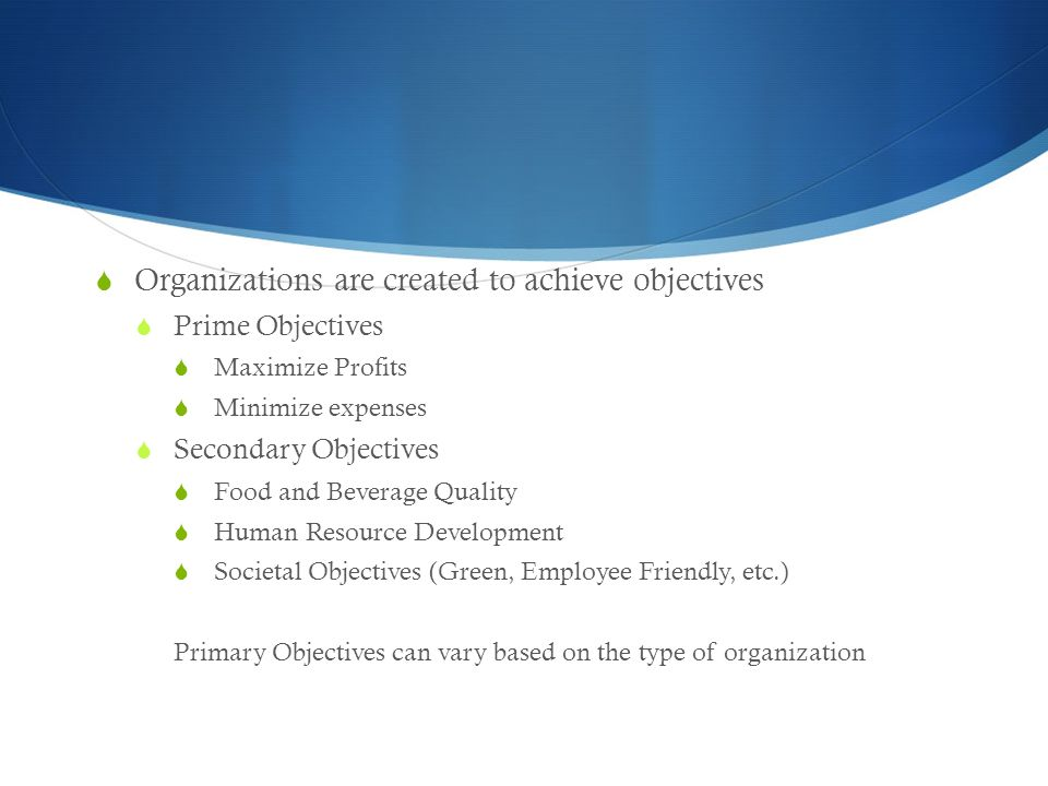 team based work to acheive organizational objectives More organizations are adopting the google's objectives and key results team setting the organization's objectives to achieve your objectives.