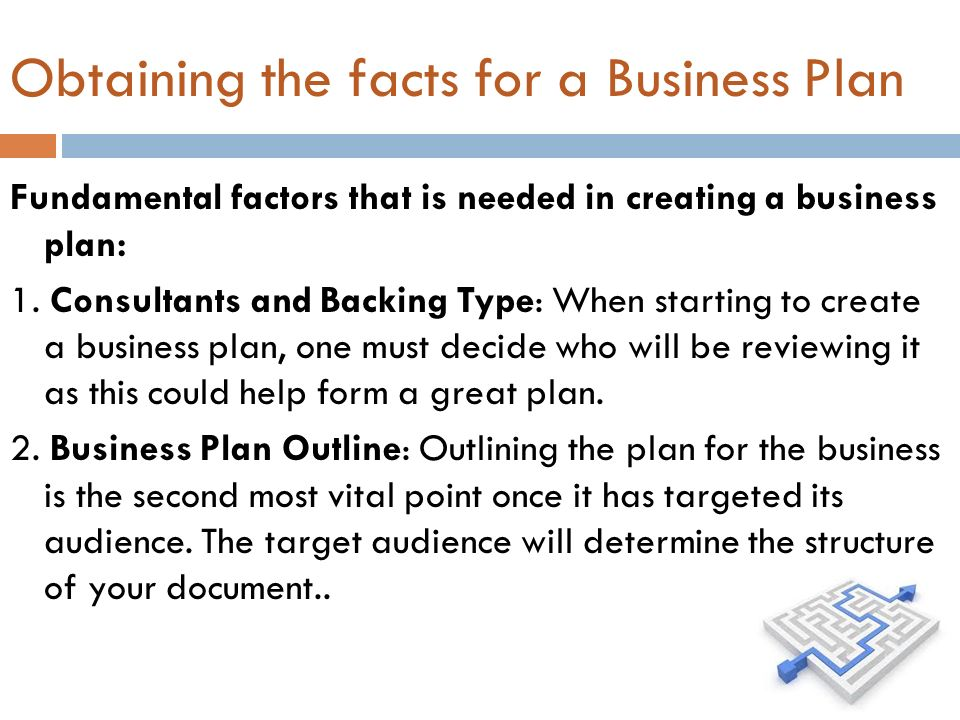 How To Make A Business Plan For A Small Business