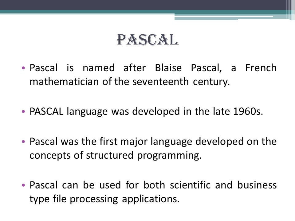 Introduction dissertation blaise pascal
