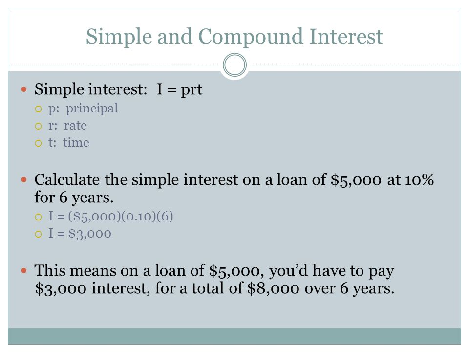 principal and interest loan calculator