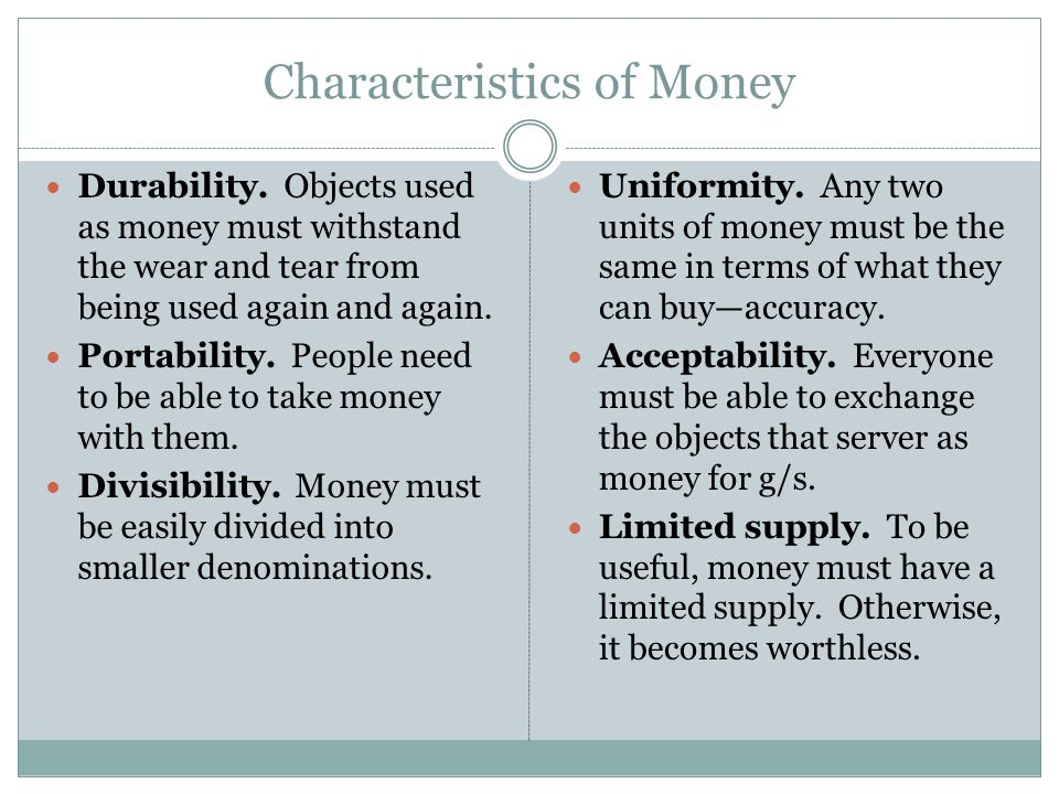 Money and investment economics mr bordelon ppt video for 6 characteristics of bureaucracy