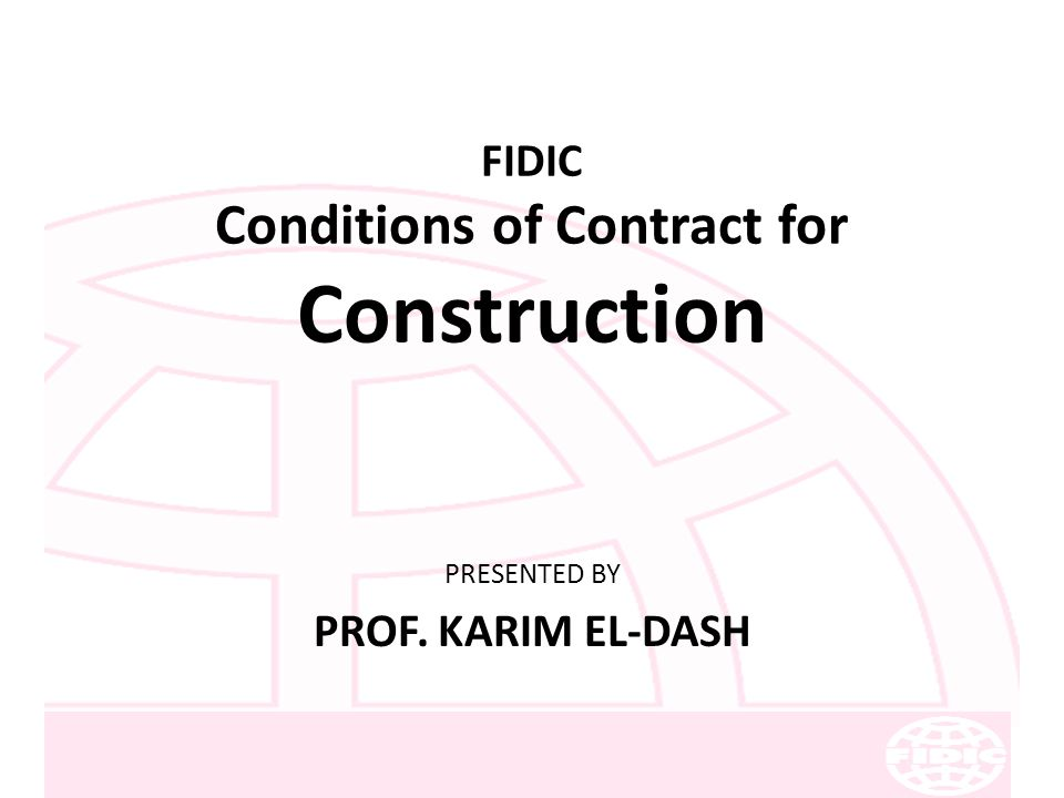 fidic contracts free download pdf