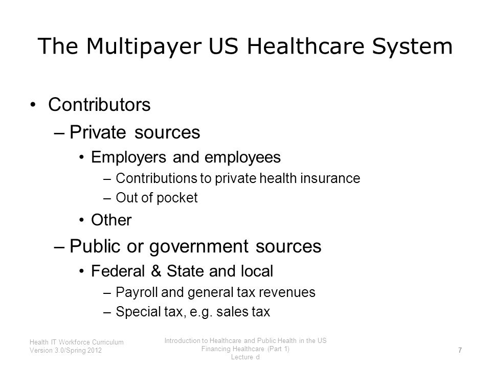 an introduction to healthcare organizations in the us The joint commission is an independent, not-for-profit organization that  purportedly accredits and certifies more than 19,000 health care organizations in  the united states  duco, s podgorny, k an introduction to the joint  commission and.