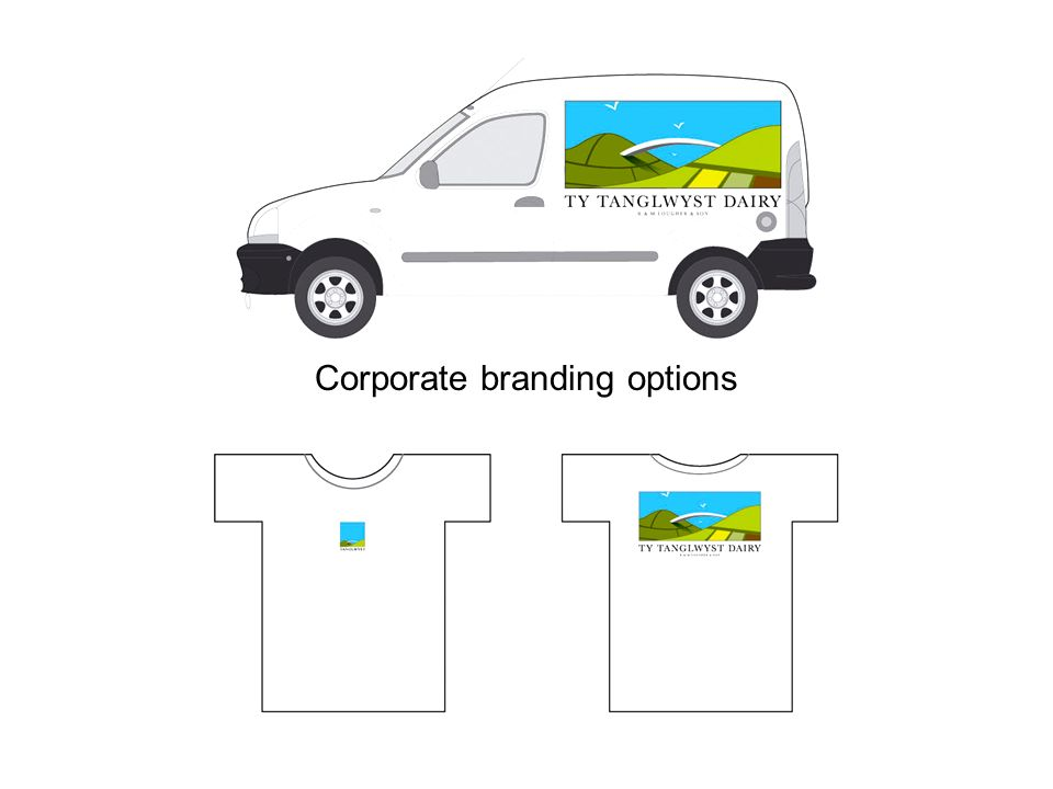 Corporate branding options