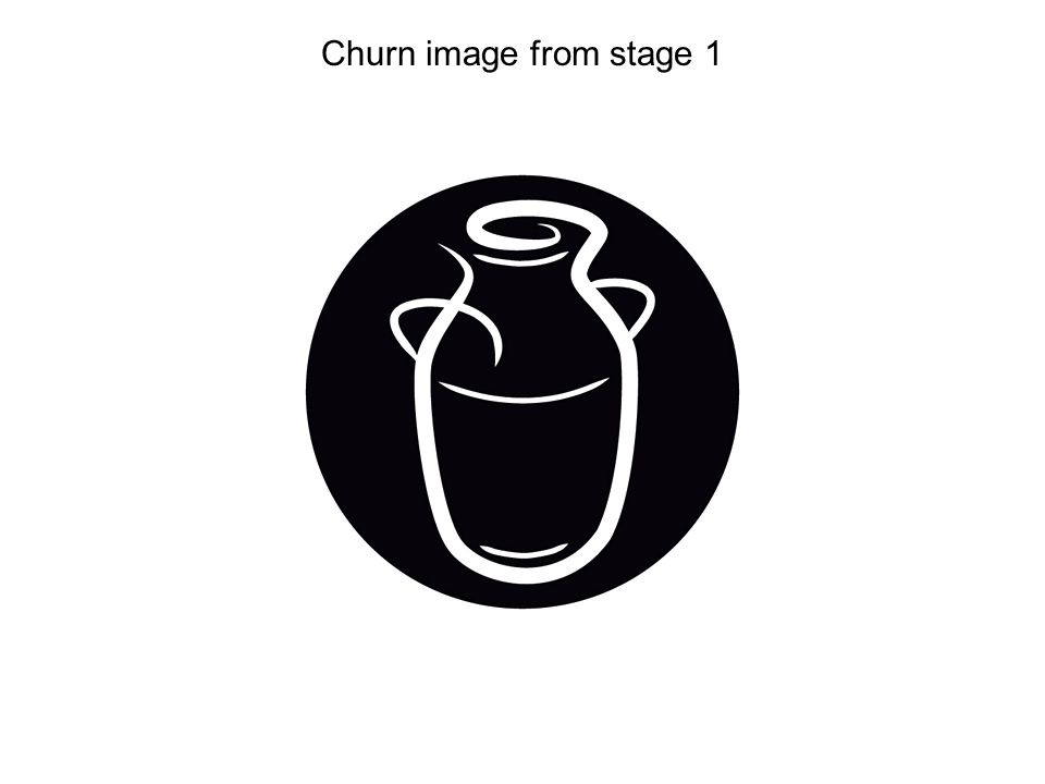 Churn image from stage 1