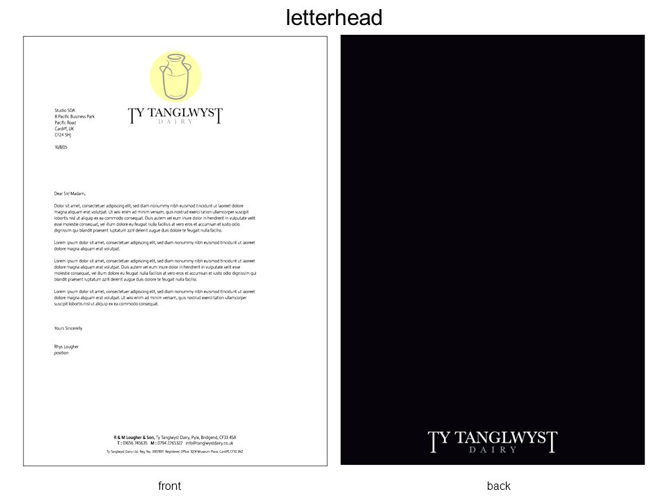 letterhead front back.