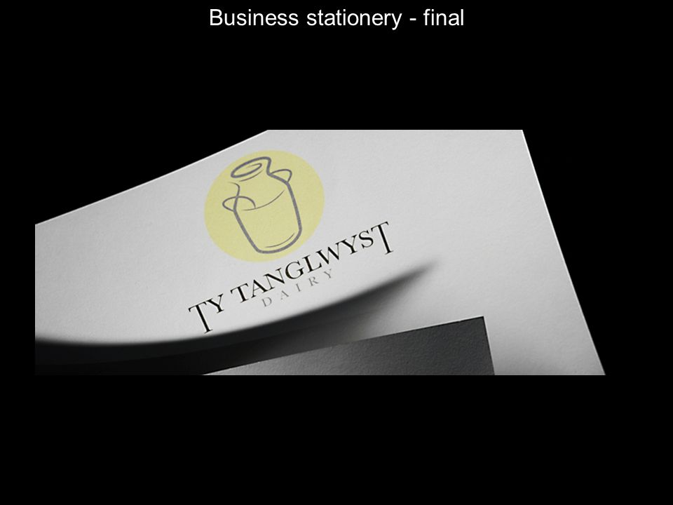 Business stationery - final