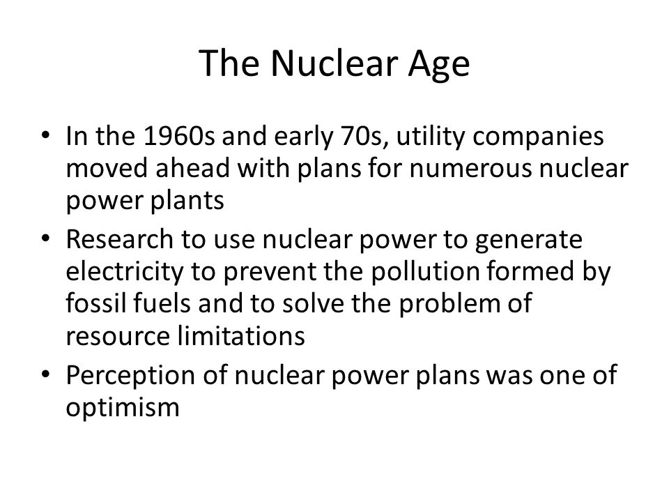 the early developments in nuclear energy Nuclear energy and society from early nuclear programmes and the spent fuel from our civil nuclear reactor fleet developments at national and local level.