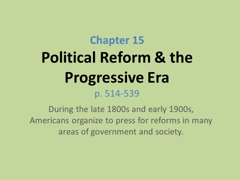 the reforms that was evident during the progressive movement in america The legacy of progressivism that was laid down during the progressive era of the influential social movement that began in the late 1800s and.