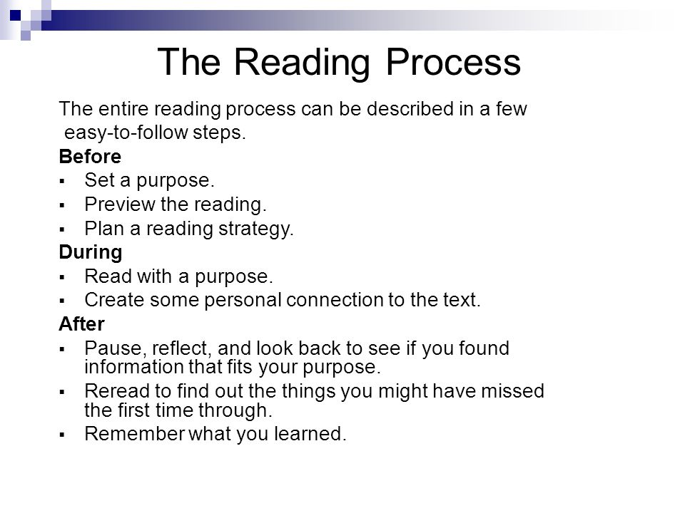 reading process Title: the reading process: a phenomenological approach created date: 20160730062142z.